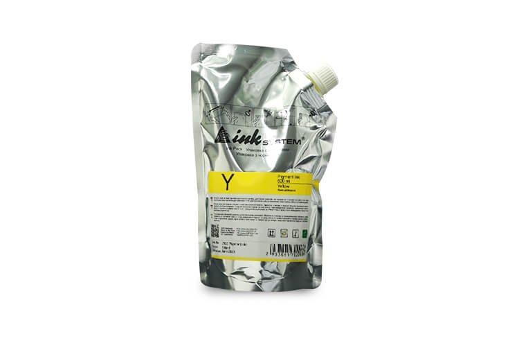 Пигментные чернила INKSYSTEM Yellow 500 мл.