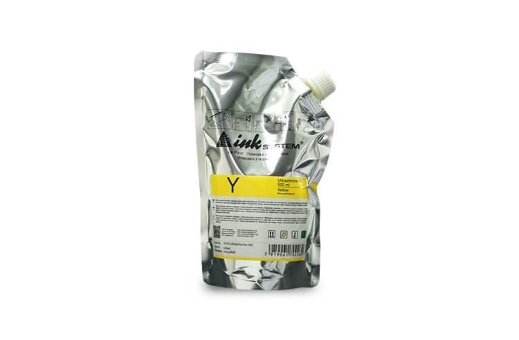 Ультрахромные чернила INKSYSTEM Yellow 500 мл.