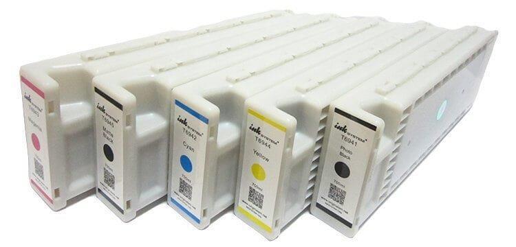 Перезаправляемые картриджи для Epson SureColor SC-T3400 с одноразовым чипом