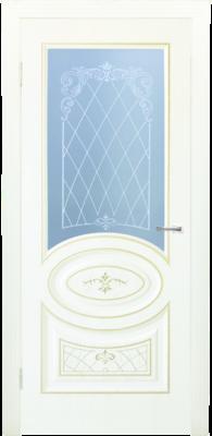 Дверь DL515ДО, цвет Крем дерево золото