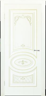 Дверь DL515ДГ, цвет Крем дерево золото
