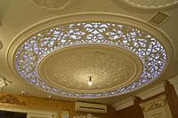 Художественный Потолок с подсветкой.