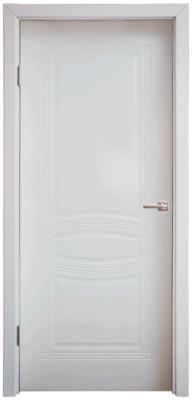 Дверь DL240ДГ, цвет Белая эмаль