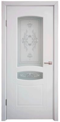 Дверь DL240ДО, цвет Белая эмаль