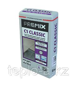 Premix C1 Classic , клей для плиток.