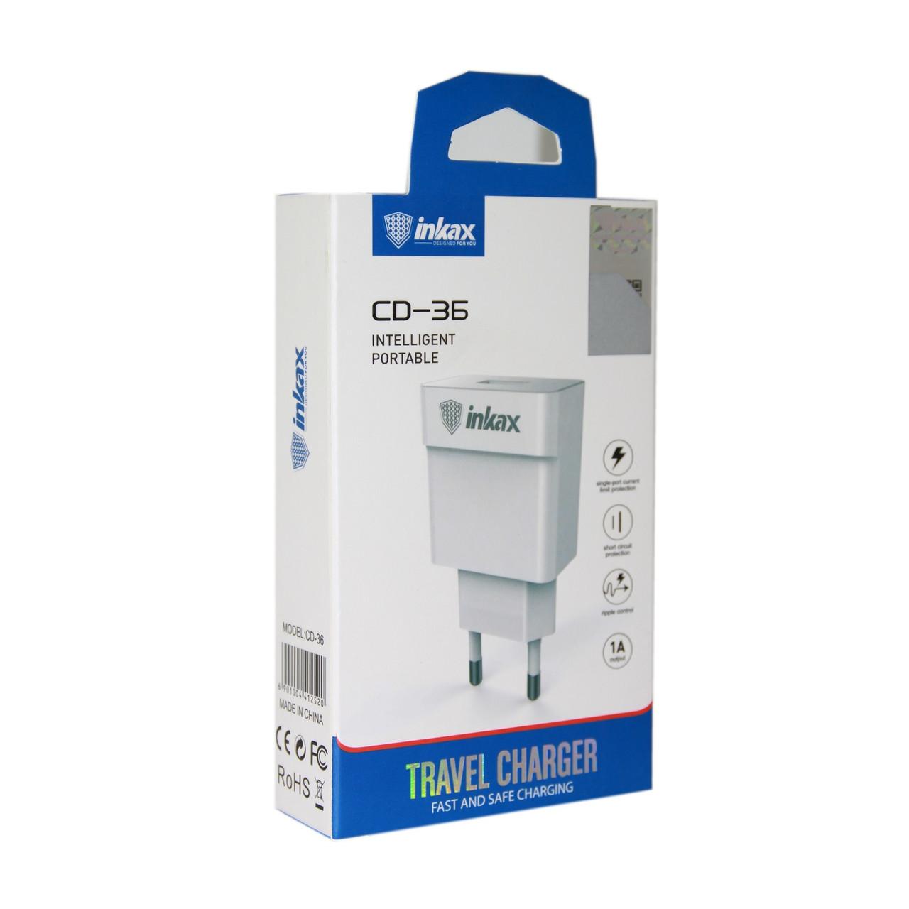 Зарядное устройство INKAX CD-36 1А
