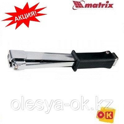 Степлер-молоток усиленный, тип скобы: 140, 6-10 мм. MATRIX MASTER
