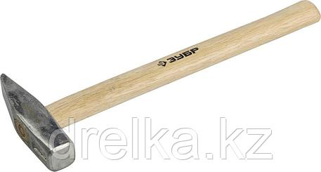 Молоток слесарный 500 г с деревянной рукояткой, тип МСЛ, ЗУБР Мастер, фото 2
