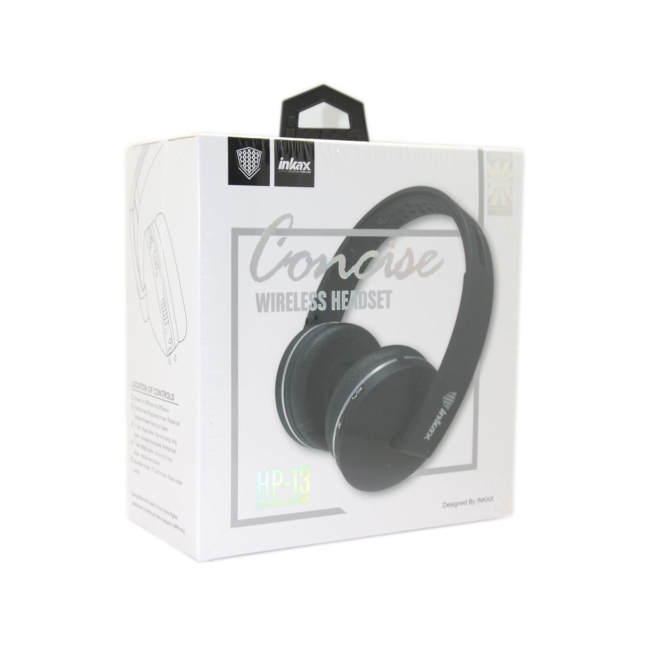 Наушники INKAX HP-13 Bluetooth