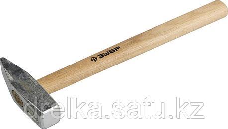 Молоток слесарный 600 г с деревянной рукояткой, тип МСЛ, ЗУБР Мастер, фото 2
