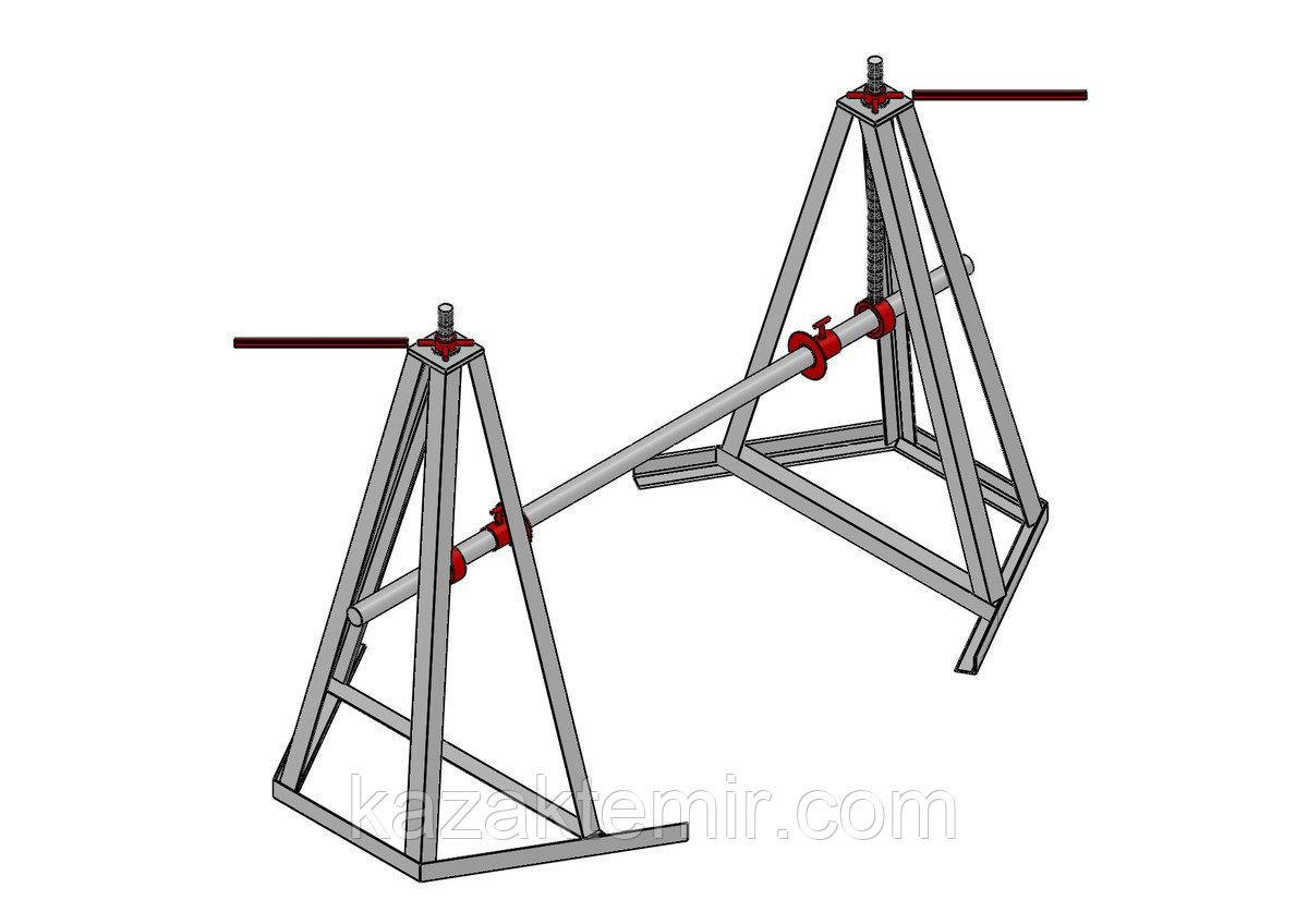 ДКВ 25-8 Винтовой кабельный домкрат