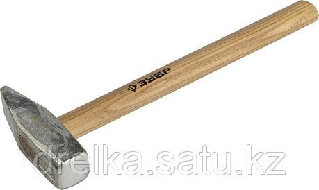 Молоток слесарный 1000 г с деревянной рукояткой, тип МСЛ, ЗУБР Мастер, фото 2