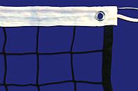 Сетка волейбольная MIKASA , нить D=3 мм, стальной трос D=3 мм