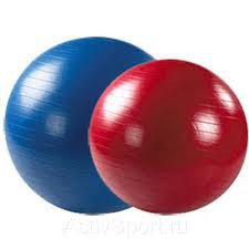 Гимнастический мяч  (Фитбол) 55 гладкий, фото 2