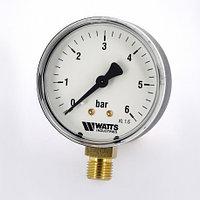 Манометр Watts 0-6 бар