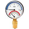Икма термоманометр  0-4 бар,0-120 °С
