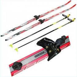 Лыжи беговые в комплекте детский, фото 2