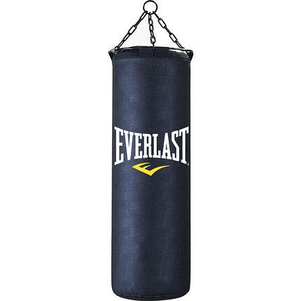 Боксерская груша Everlast кожа 120см черный, фото 2