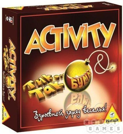 Настольные игры: Activity + Тик Так Бумм