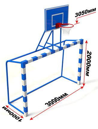 Баскетбольный щит с воротами, фото 2