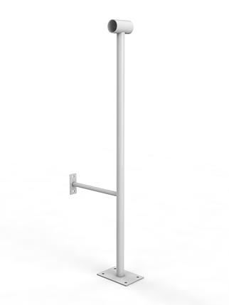 Однорядный напольно-пристенный кронштейн, фото 2