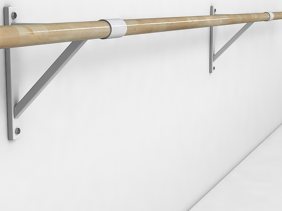 Балетный станок однорядный настенный 4м, фото 2