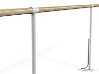 Балетный напольный однорядный станок 4м