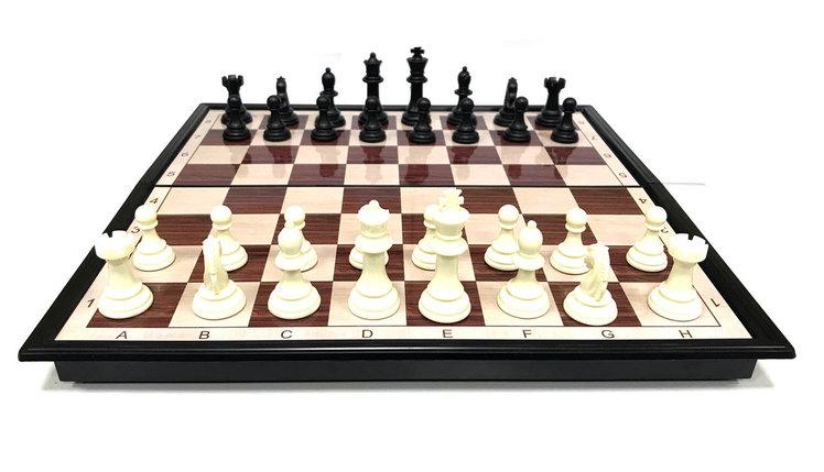 Шахматы  (36см х 36см) магнитный, фото 2