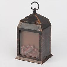 Фонарь-ночник с эффектом живого огня «Уют камина», фото 3