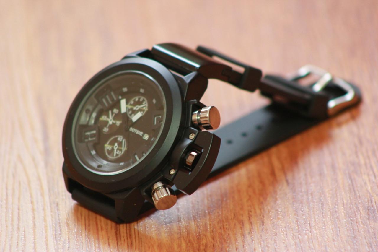 Брутальные мужские часы Dotshe. Kaspi RED. Рассрочка. - фото 1