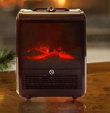 Электрокамин с эффектом живого огня Теплый дом, фото 3