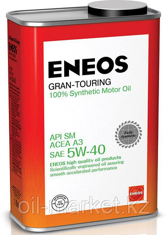 Моторное масло ENEOS GRAN TOURING 5w-40 Synthetic (100%) 0,94 л, фото 2