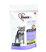 1st Choice «Здоровый старт» для котят от 2 до 12 месяцев, на основе курицы  350 гр., фото 1