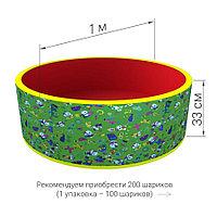 Сухой бассейн с шариками Романа Веселая поляна (зеленый)