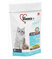 1st Choice «Здоровая кожа и Шерсть» с лососем - для кошек от 1 года до 10 лет 350 гр.