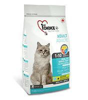 1st Choice «Здоровая кожа и Шерсть» с лососем - для кошек от 1 года до 10 лет 2.72 кг., фото 1