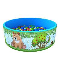 Сухой бассейн с шариками Романа Зверята 200 шаров
