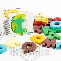 Карточки-вкладыши с буквами английского алфавита, фото 2