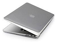 Глянцевый пластиковый чехол для MacBook Air 13'' 2017 (серый), фото 1