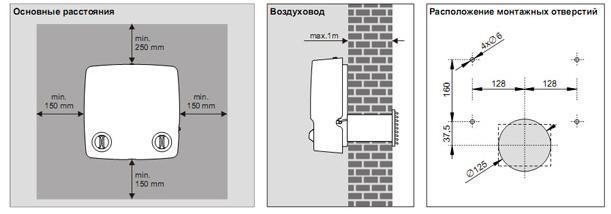 Установка для приточной вентиляции JR-M-A 2VV (Marta)