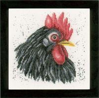 """Набор для вышивания крестом """"Black chicken"""""""