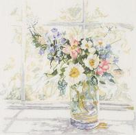 """Набор для вышивания крестом """"Bouquet of Flowers """""""