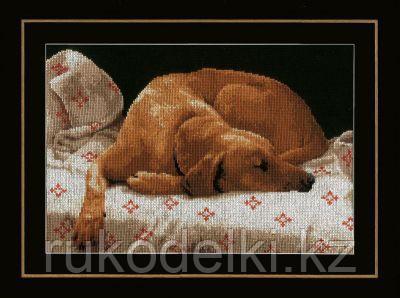 """Набор для вышивания крестом """"Sleeping Dog"""""""