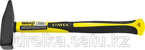 Молоток слесарный с фиберглассовой рукояткой 500 г, STAYER Fiberglass, фото 2