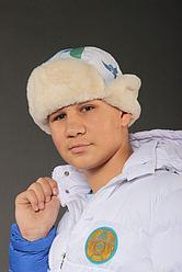 Шапка ушанка, на меху, коллекция САППОРО
