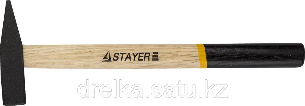 Молоток слесарный 200 г с деревянной рукояткой, STAYER Master 2002-02