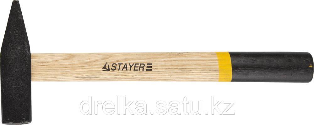 Молоток слесарный 400 г с деревянной рукояткой, STAYER Master 2002-04