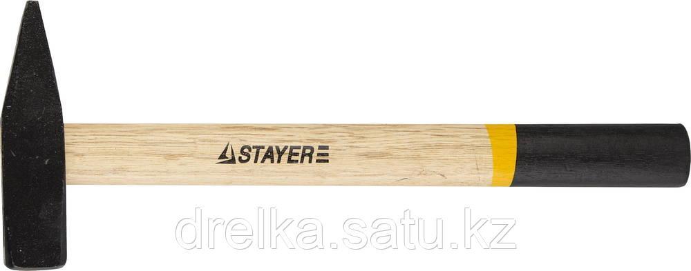 Молоток слесарный 600 г с деревянной рукояткой, STAYER Master 2002-06