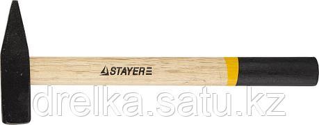 Молоток слесарный 600 г с деревянной рукояткой, STAYER Master 2002-06, фото 2