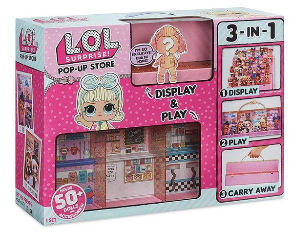 L.O.L. Surprise! Pop-up Store: стенд для всех ваших кукол